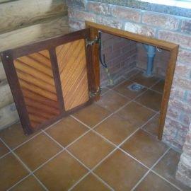дверька для ниши из мербау
