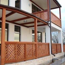 обрешетка-забор террасы и балконов