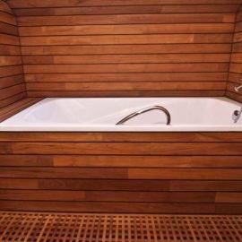 ванна полы и стены тик